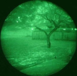 暗視スコープの画像